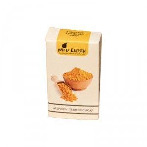 Buy Wild Earth Ayurvedic Turmeric Soap - Nykaa