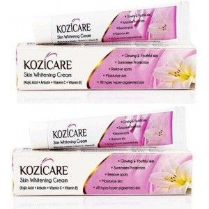 Buy West Coast Kozicare Skin Whitening Cream (Pack Of 2) - Nykaa