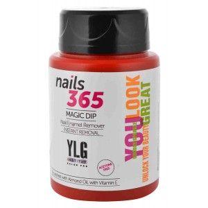 Buy YLG Nails365 Magic Dip In Nail Enamel Remover - Nykaa