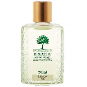 Buy Breathe Aromatherapy Lemon Oil - 20ml - Nykaa