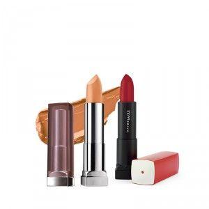 Buy Buy Maybelline New York Color Sensational Creamy Matte Lipstick - Nude Embrace & Get Color Sensational Lipstick Free - Nykaa