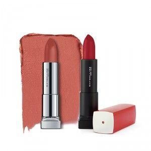 Buy Buy Maybelline New York Color Sensational Powder Matte Lipstick - Make Me Blush  & Get Color Sensational Lipstick Free - Nykaa