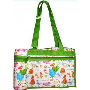 Buy Morisons Baby Dreams Bag With Bottle Warmer (Green) - Nykaa
