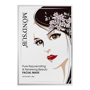 Buy Mond'Sub Pure Rejuvenating & Renewing Beauty Facial Mask (Pack of 6) - Nykaa
