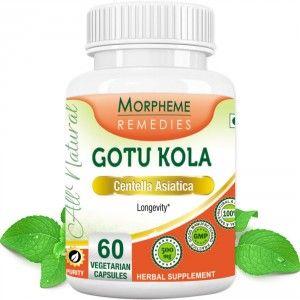 Buy Morpheme Remediess Gotu Kola Supplements For Longevity - 500mg Extract - Nykaa