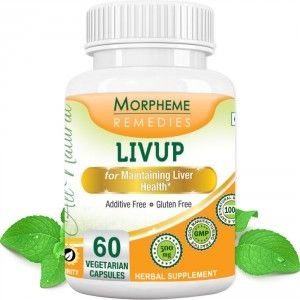 Buy Morpheme Remedies Livup Capsules for Maintaing Liver Health - 500mg Extract - Nykaa