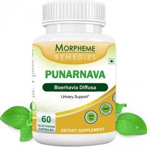 Buy Morpheme Remedies Punarnava (Boerhavia Diffusa) For Urinary Support - 500mg Extract - Nykaa