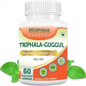 Buy Morpheme Remedies Triphala Guggul Supplements For Cleansing & Weight Loss - 500mg Extract - Nykaa