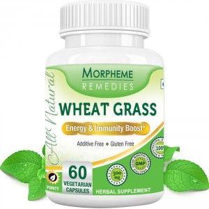 Buy Morpheme Remedies Wheatgrass  Supplements For Energy & Immunity Boost -  500mg Extract - Nykaa