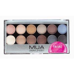 Buy MUA Hall Of Fame Eyeshadow Palette - Nykaa