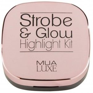 Buy MUA Strobe & Glow Highlight Kit - Pearl Gold - Nykaa