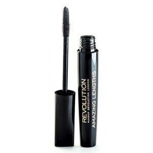 Buy Makeup Revolution Amazing Length Ultra Black Mascara - Nykaa