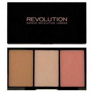 Buy Makeup Revolution Iconic Pro Blush, Bronze and Brighten - Nykaa