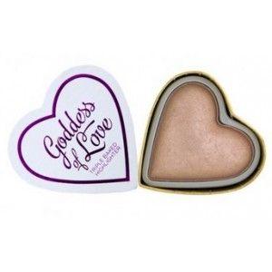 Buy Makeup Revolution I Heart Makeup Blushing Hearts-Goddess of Love Highlighter - Nykaa
