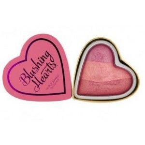 Buy Makeup Revolution I Heart Makeup Hearts Blusher Blushing Heart - Nykaa