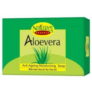 Buy Natures Essence Aloevera Moisturizing Bar - Nykaa