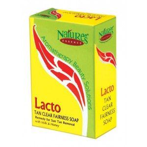 Buy Nature's Essence Lacto Tan Soap - Nykaa