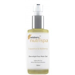 Buy Nutrispa Liquorice & Mulberry DermaLight Face Wash Gel - Nykaa