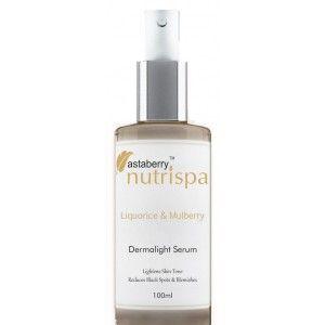 Buy Nutrispa Liquorice & Mulberry DermaLight Serum - Nykaa