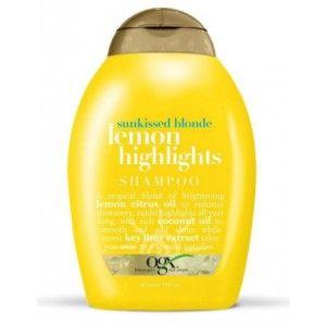 Buy Organix Sunkissed Blonde Lemon Highlights Shampoo - Nykaa