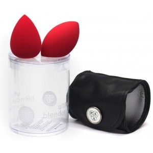 Buy PAC Ultimate Beauty Blender Sponge (With Pouch) (2 Pcs) (Red) - Nykaa