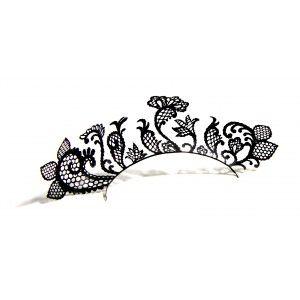 Buy Paperself Designer Eyelashes Lace Garden - Black - Nykaa