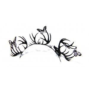 Buy Paperself Designer Eyelashes Deer & Butterfly - Black - Nykaa