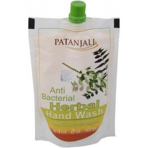 Buy Patanjali Herbal Handwash Refill (Anti Bacterial) - Nykaa