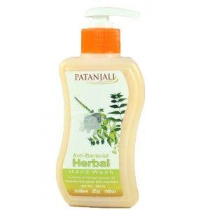 Buy Patanjali Herbal Handwash (Anti Bacterial) 250ml - Nykaa