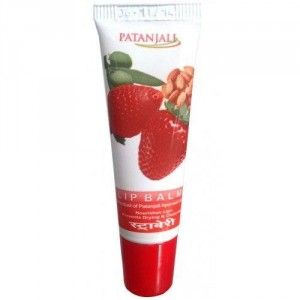 Buy Patanjali Strawberry Lip Balm - Nykaa