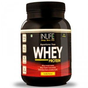 Buy Inlife Whey Protein Vanilla Flavour (2Lb) - Nykaa