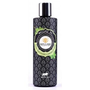 Buy Roots & Herbs Tulsi Panchang Luminious Body Massage Oil  - Nykaa