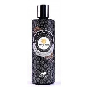 Buy Roots & Herbs Black Sesame Pain Relief Massage Oil  - Nykaa