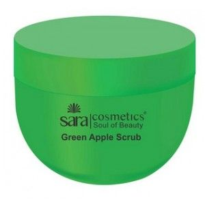 Buy Sara Green Apple Scrub - Nykaa