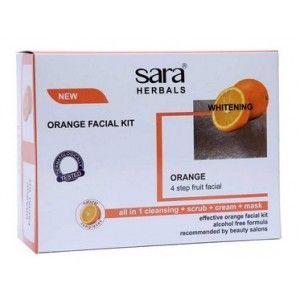 Buy Sara Orange Facial Kit - Nykaa
