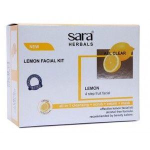 Buy Sara Lemon Facial Kit - Nykaa