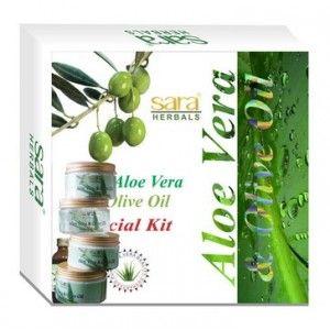 Buy Sara Aloe Vera Facial Kit - Nykaa