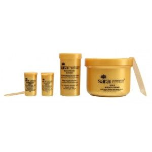 Buy Sara Soyabean Gold Bleach - Nykaa