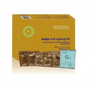 Buy Sara Gold Kit 60 g (Set of 6) - Nykaa