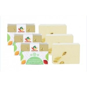 Buy Satveda Pure Elaichi Soap With Elaichi Beads Pack Of 3  - Nykaa