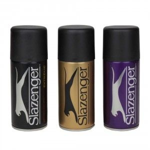 Buy Slazenger Men's Deodorant Sprays Set Of 3 - Sprint, Extreme & Advance - Nykaa