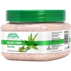 Buy SSCPL Herbals Aloevera Scrub - Nykaa