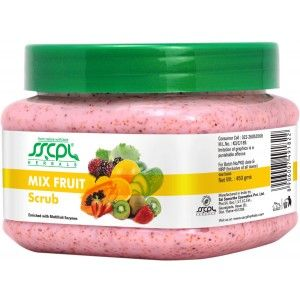 Buy SSCPL Herbals Mix Fruit Scrub - Nykaa