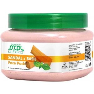 Buy SSCPL Herbals Sandal Basil Face Pack - Nykaa