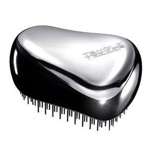 Buy Tangle Teezer Compact Styler Detangling Brush-Black/Chrome - Nykaa