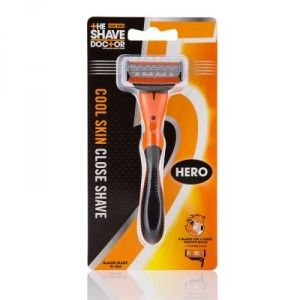 Buy The Shave Doctor 5 Blade + Trimmer Edge Hero Razor - Nykaa