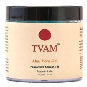 Buy TVAM Aloevera Gel Peppermint & Green Tea - Nykaa
