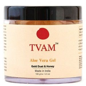 Buy TVAM Aloevera Gel Gold Dust & Honey  - Nykaa
