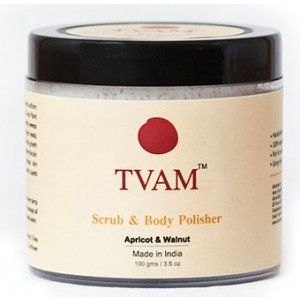 Buy TVAM Scrub & Body Polisher Apricot & Walnut - Nykaa