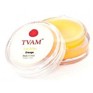 Buy TVAM Orange Lip Balm - Nykaa